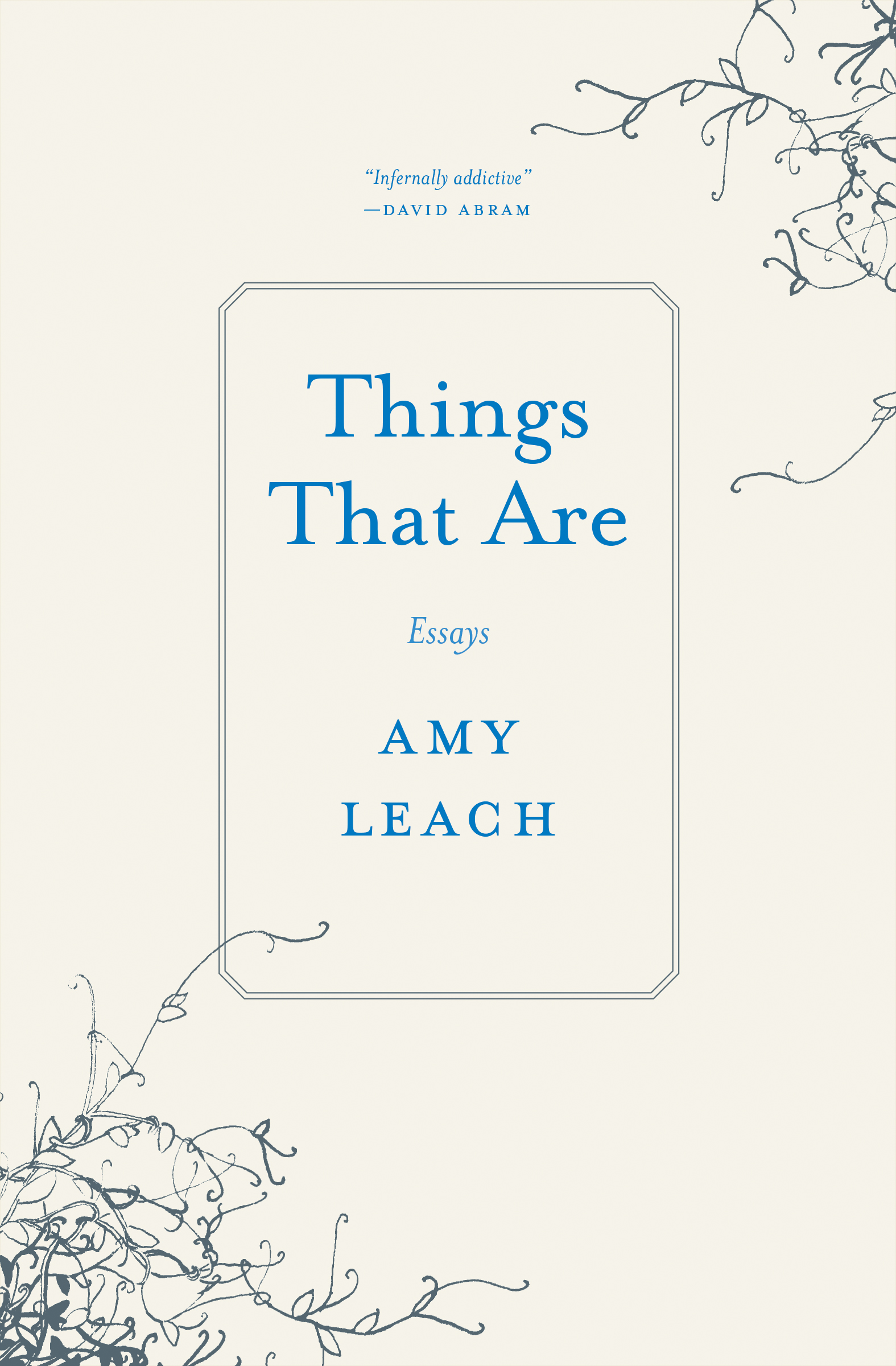 things that are editions cover art