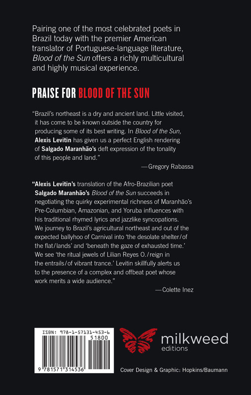 Blood of the Sun (back cover)