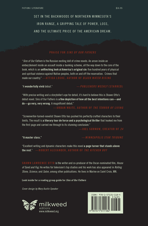 Sins of Our Fathers (back cover)