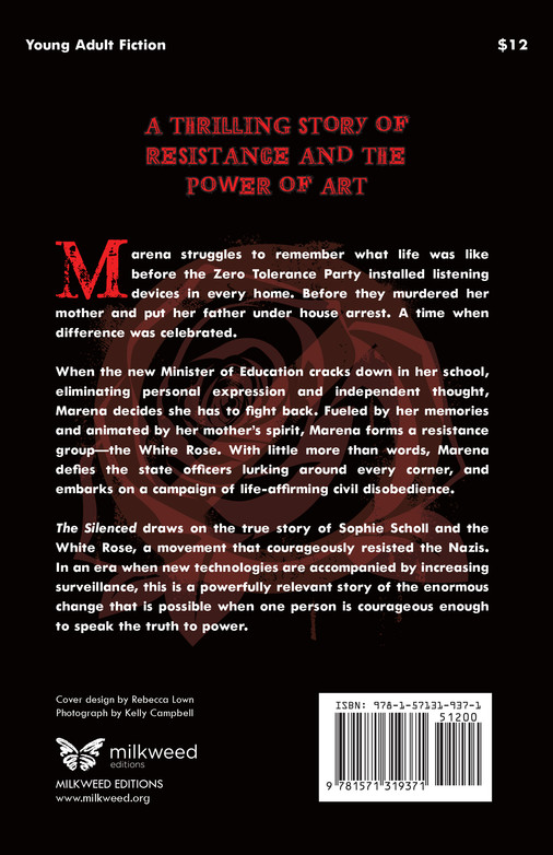 The Silenced (back cover)