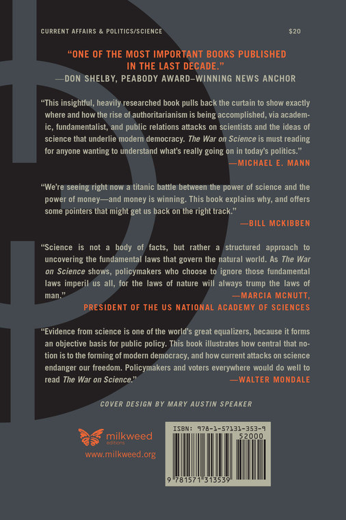 The War on Science (back cover)