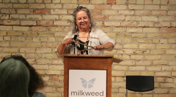 ROBIN WALL KIMMERER AT THE 2013 MILKWEED EDITIONS BOOK LOVERS BALL