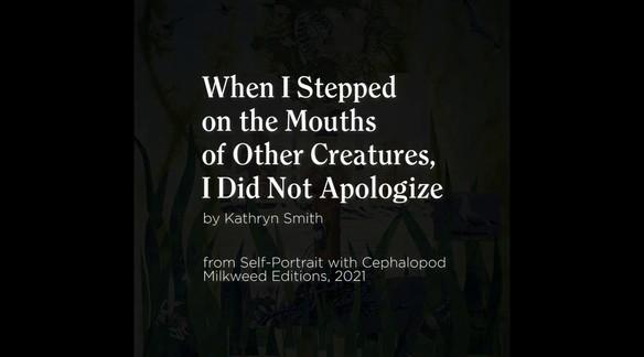 Watch: Self-Portrait with Cephalopod by Kathryn Smith | Milkweed Editions