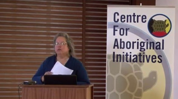 ROBIN KIMMERER AT THE CENTRE FOR ABORIGINAL INITIATIVES