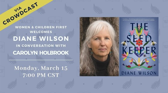 Watch: Diane Wilson in conversation with Carolyn Holbrook | Women & Children First Bookstore