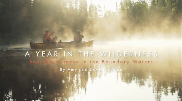 BOOK TRAILER: A YEAR IN THE WILDERNESS BY AMY AND DAVE FREEMAN